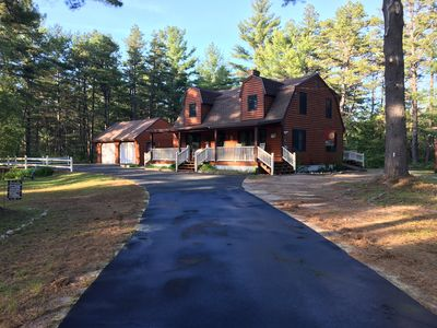 Clean, Spacious, 4 Bdrm Log Style Home in Madison (Silver Lake) NH
