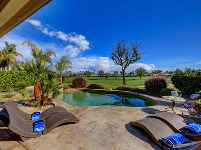 Photo for Recently Remodeled Desert Retreat-Private Pool & Spa on Private Golf Course
