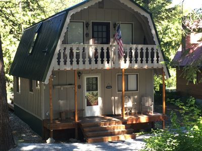 Photo for River Front Cabin in Plain, close to Lake Wenatchee