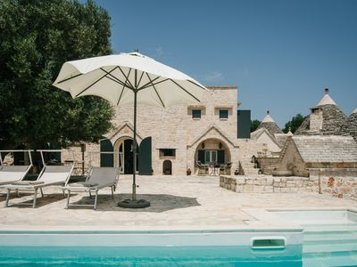 Photo for Exclusive trullo with private pool in Puglia