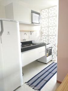 Photo for Front-sea apartment with pool, barbecue, 24-hour security