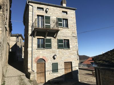 Photo for Stone house in the village of Costa di Groppoducale