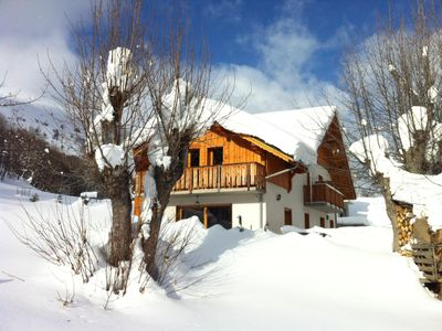 Photo for superb mountain chalet, quiet location not far from amenities.