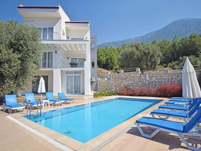 Photo for Luxury 5 bedroom en-suite villa with stunning sea and mountain views - FREE WIFI
