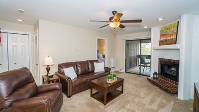 Photo for Charming lake-side condo nestled in The Knolls