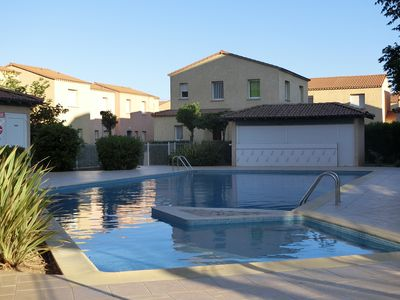 Photo for Renovated Villa T3 + Terrace & Private Parking. Pool, shops and beach at 50m!