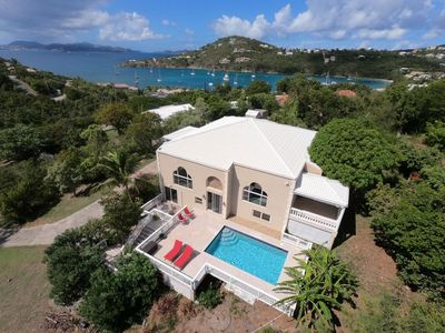 Photo for St. Thomas and St.Croix views, Breeze, Quality, pool, 4bdrm