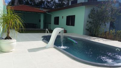 Photo for House with pool 100 meters from the beach of Capão da Canoa