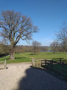 Photo for Perfect tranquility with view of Harewood House and lake