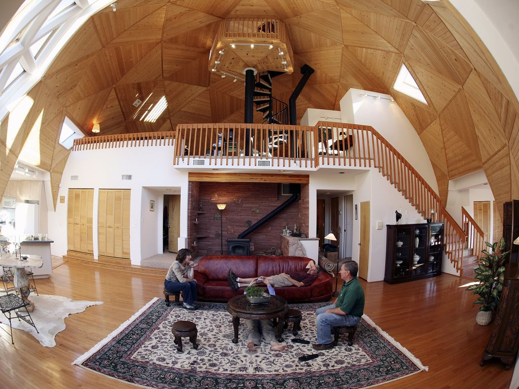 stunning sedona geo dome retreat with aweso vrbo living room under the dome