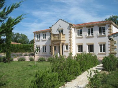 Photo for LOVELY QUIET LARGE VILLA, AIR CONDITIONED, NEAR CANNES, PRIVATE LARGE POOL