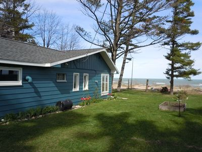 Oscoda area - relax and enjoy family time on a Lake Huron sugar sand beach
