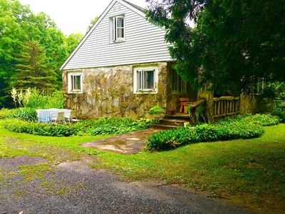 Photo for 1950 s stone house on 14 acres in nestled n between New Paltz and Kingston NY