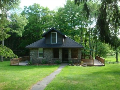Photo for Private Water on the Willowemoc,  40 Acres, Fully updated