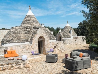 Photo for Trullo Petrelli - Three Bedroom Apartment, Sleeps 6