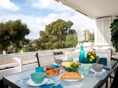 Photo for Apartment Nards with wonderful terrace with views