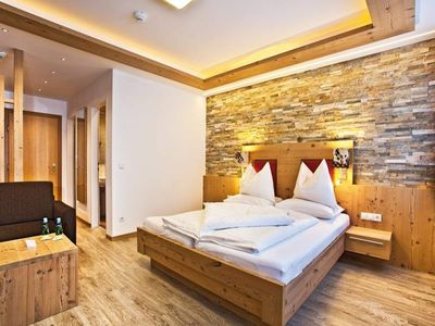 """Photo for Room """"Mitterspitz without balcony"""", from 7 nights - Alpenhof, country hotel"""