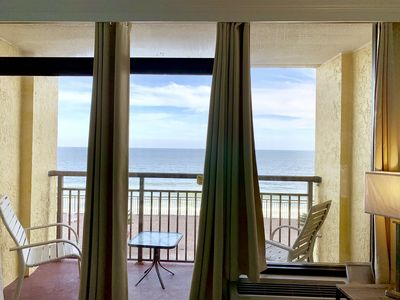 Photo for 8th Floor Renovated, DIRECT OCEANFRONT VIEW, Pools, Hot Tubs, Lazy River +