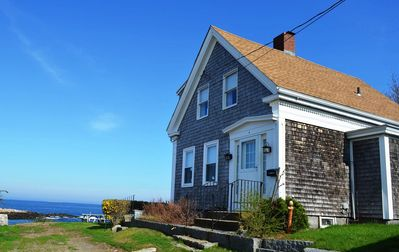 The Rockporter: Enjoy beautiful views of Pigeon Cove Harbor.