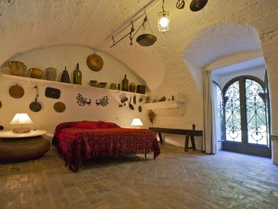 Photo for HOLIDAY IN THE HISTORY: family suite on the ground floor & authentic furnitures