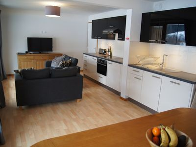 Photo for Fully equipped for a family & 300 metres from the ski area!