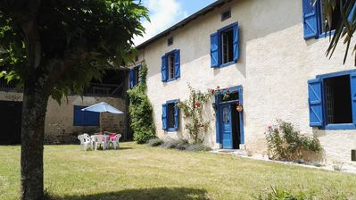 Photo for La Villa Bleue is a traditional Gascogne house in the village of Galan, sleeps 6