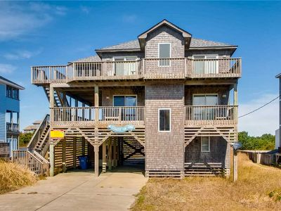 Photo for Savor the Beautiful Unobstructed Semi-Oceanfront Views, Hatteras w/ Weber Grill