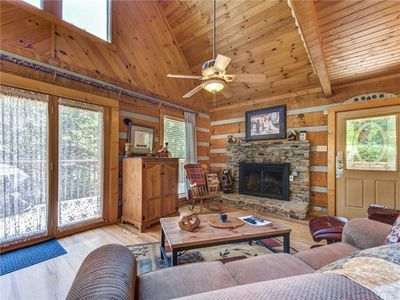 Photo for Somewhere A Place For Us, 2 Bedroom, Sleeps 6, Yard, Hot Tub/Spa, Fishing, PS3