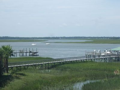 Photo for Relaxing 3BR with Beautiful View of Folly River, Water's Edge
