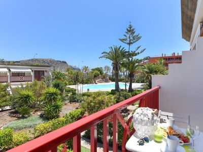 Photo for Apartment Beach Apartment Playa del Cura 47 in Mogan - 1 persons, 1 bedrooms