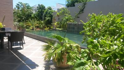 Photo for Peaceful oasis with pool. In the heart of Grand Bay