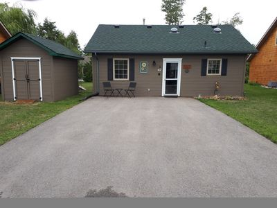 Photo for 2 bedroom luxury private Cabin located in the  Lakes of  Wasaga Resort