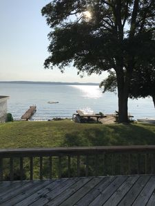 Photo for Luxury Waterfront Vacation Home Directly on Hubbard Lake - East Shore