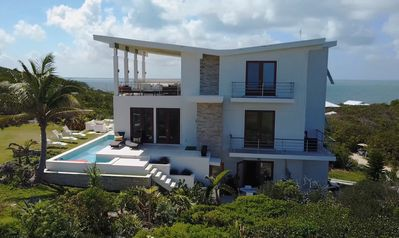 Photo for New Modern With Panoramic Views, Pool, Steps To The  Beach, with Muliple Patios
