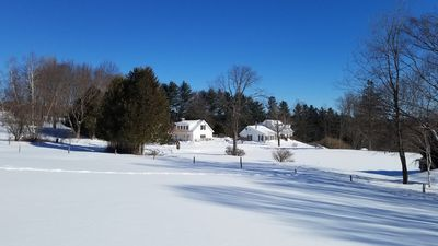 Photo for Country Cottage and Cabin @ Lilac Hill, Stowe VT. Sleeps 9, Kitchen and 2 baths