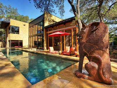 Photo for Bali Meets Austin In Artist's Spectacular, Private, Luxury Loft House