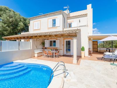 Photo for CASA LENA - Chalet with private pool in Portocolom.