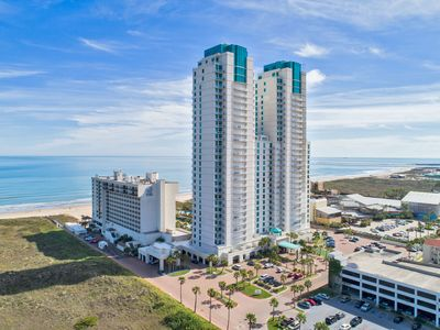 Photo for Beachfront condo w/ Great Ocean Views at the Sapphire Resort!