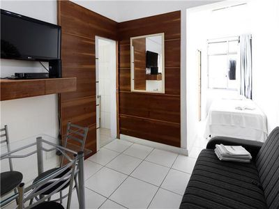 Photo for Simple and silent one bedroom apartment  for 4 persons in Copacabana