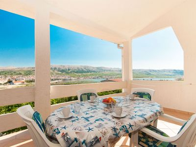 Photo for Apartments Mate (23961-A2) - Pag - island Pag
