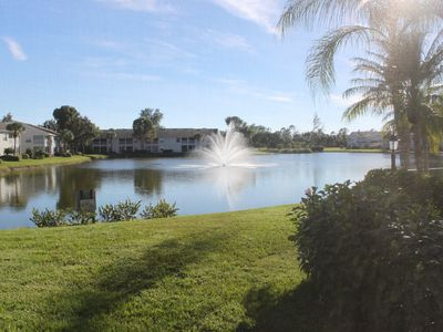 Photo for Coastal Living with sweeping water views! Light/Bright 3/2 1st Floor End Unit!