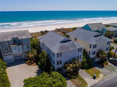 Photo for AN OCEANFRONT OASIS: 3 BR / 3 BA oceanfront in Topsail Beach, Sleeps 6