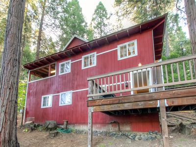 Photo for Arnold Cabin w/Nature Views in Blue Lake Springs!
