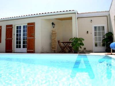 Photo for P1 Studio With Attractive Garden & 9m Saltwater Swimming Pool, Free WIFI Access