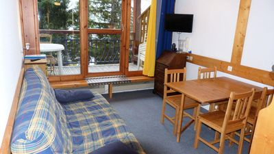 Photo for Residence Aiguille Grive Bat Iii - 2 room flat for 6 people