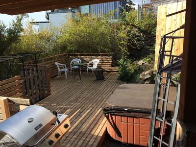 New deck finished April of 2015.  It is fantastic.