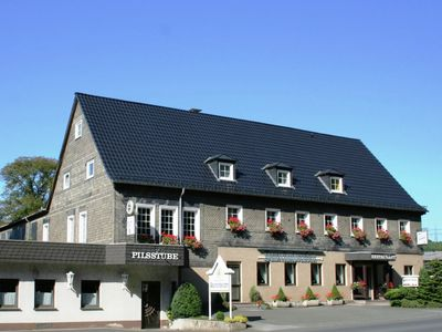 Photo for Modern holiday home in Sauerland with private restaurant and beer garden