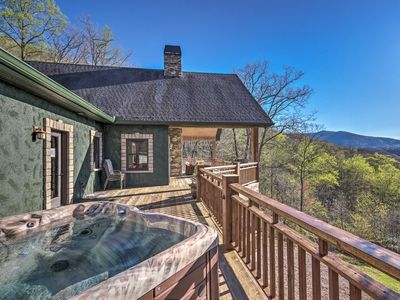 Photo for NEW! Huge Mountain-View Home 15 Mins to Asheville!