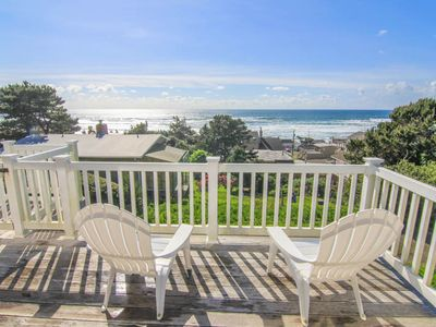 Photo for Ocean View Home in Road's End, Great Amenities, Easy Beach Access Nearby