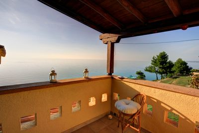 Overlooking the Aegean sea by your balcony